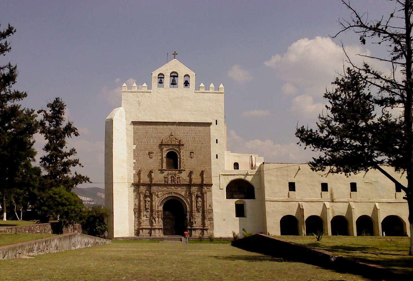 File Ex Convento De San Agustin Acolman Jpg Wikimedia Commons