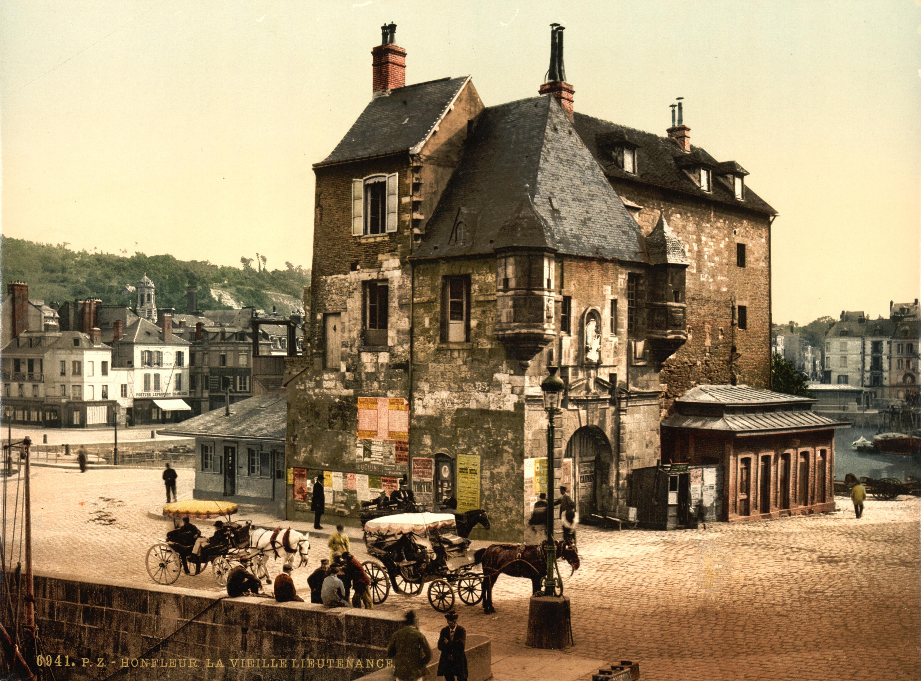 Honfleur France  city photos : ... trialsanderrors The Old Lieutenancy, Honfleur, France, ca. 1895