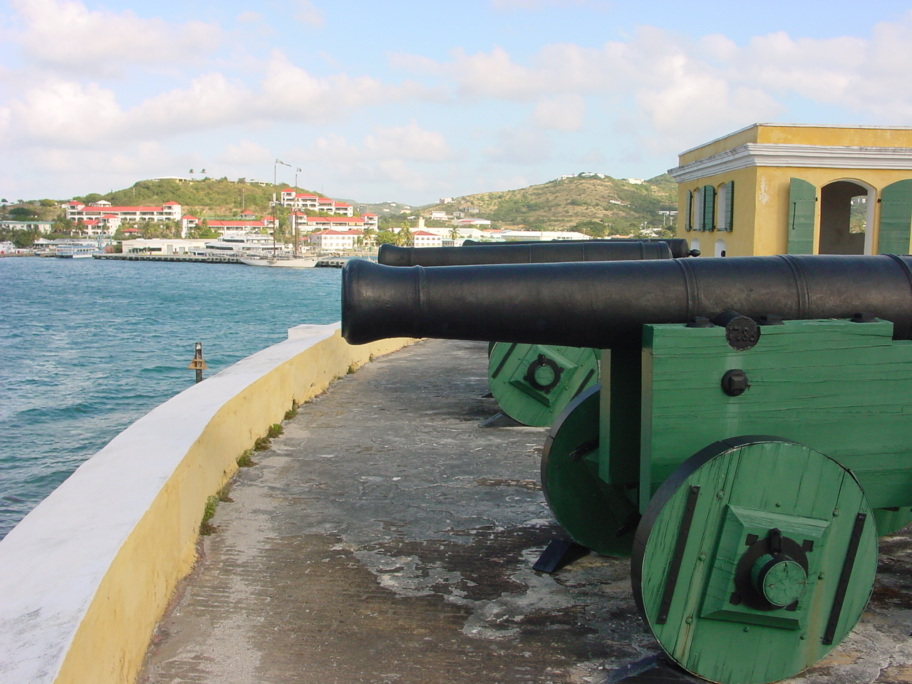 Christiansted St Croix Vi Us Virgin Island July Weather