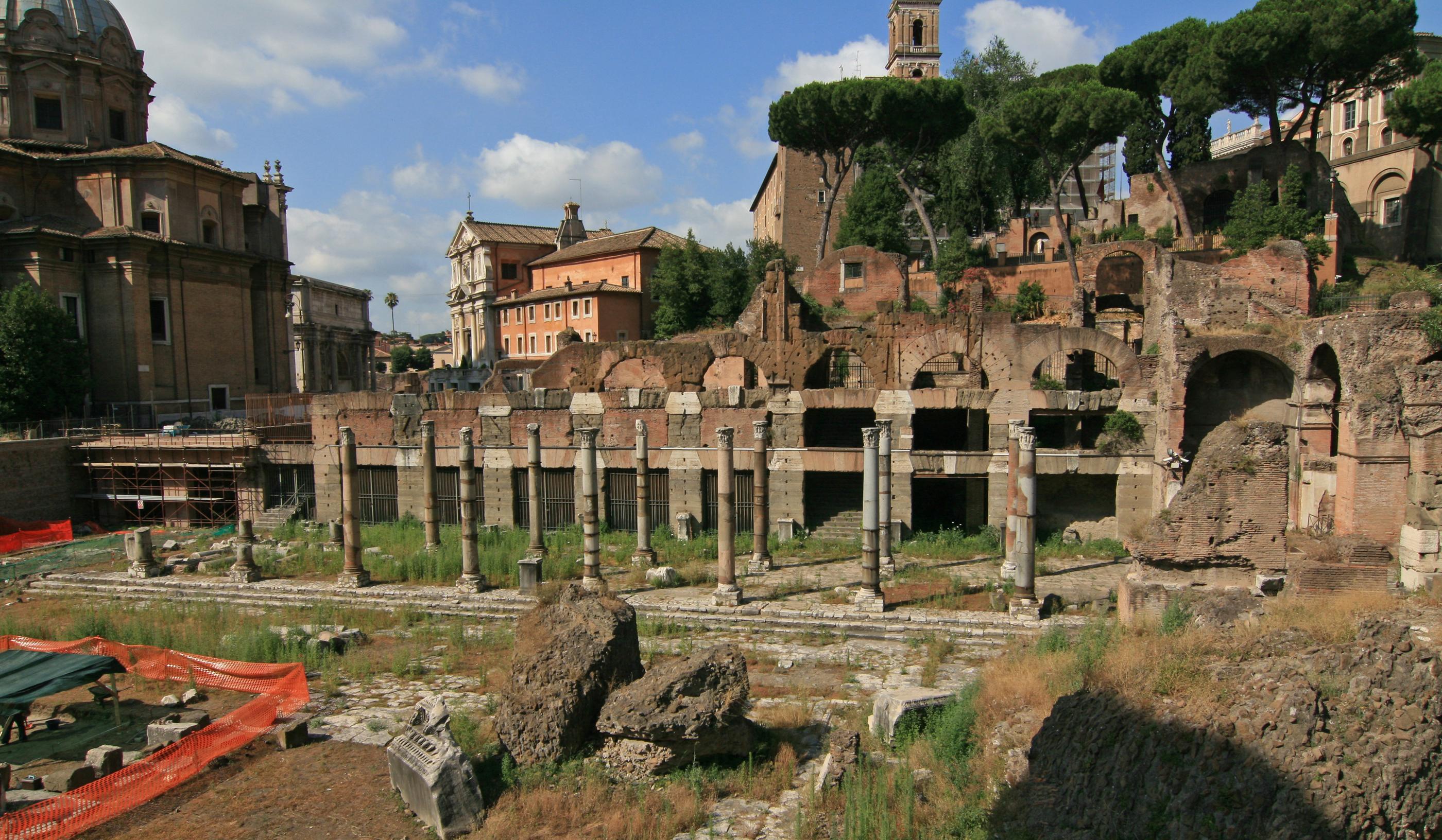 Caesarovo fórum dnes