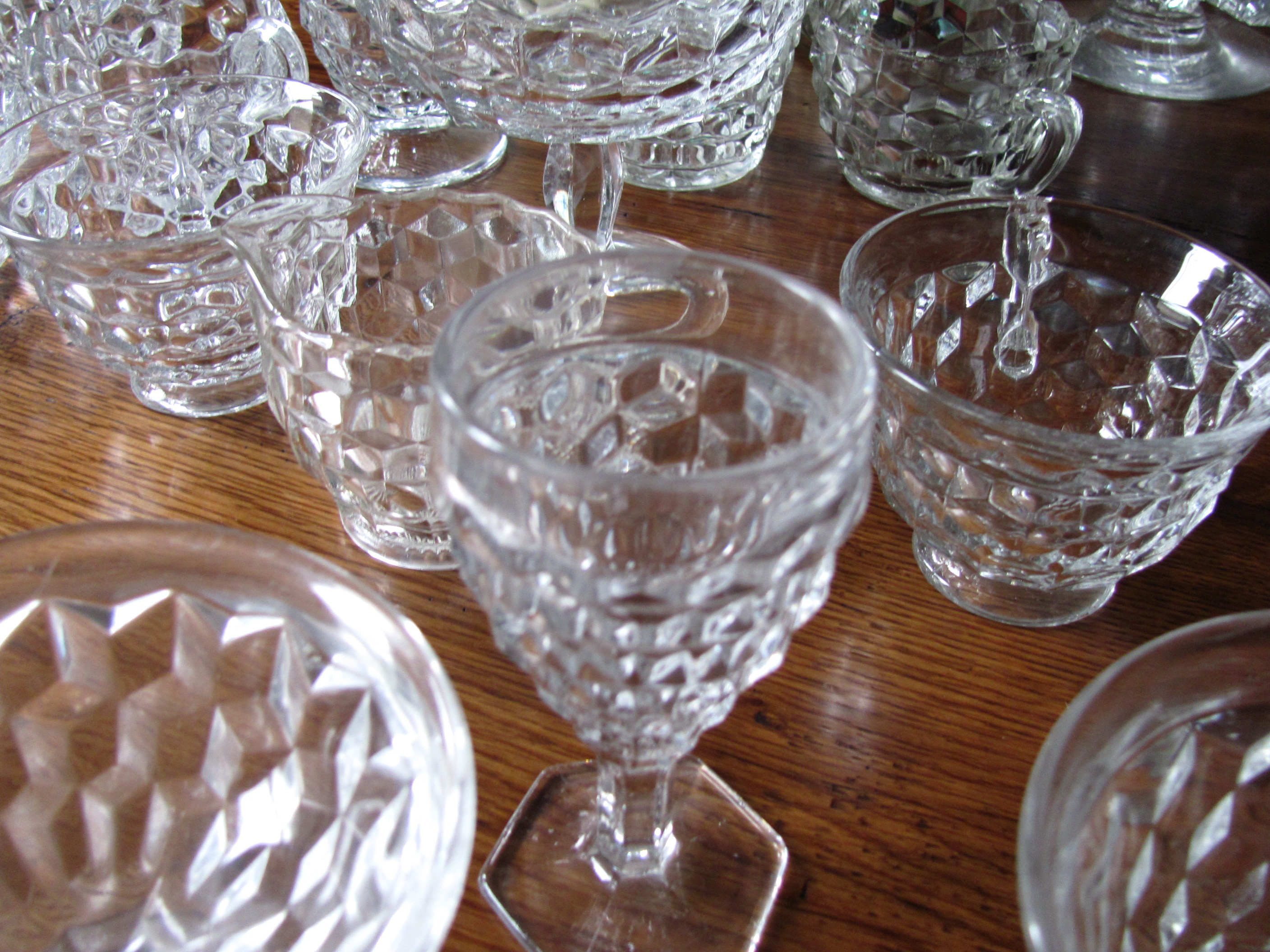 Etched Crystal Wine Glasses Morgantown