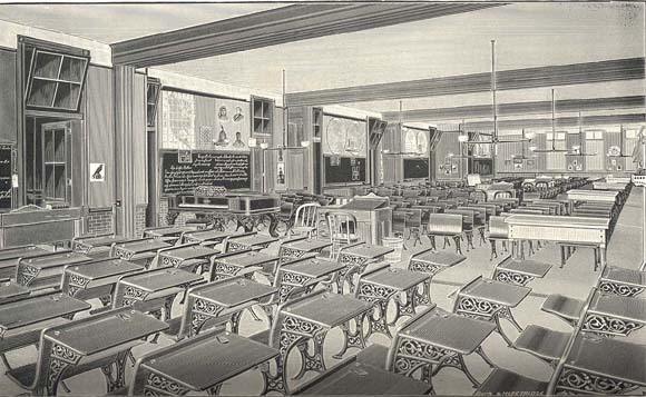 Francis M. Drexel School in Philadelphia, 01897