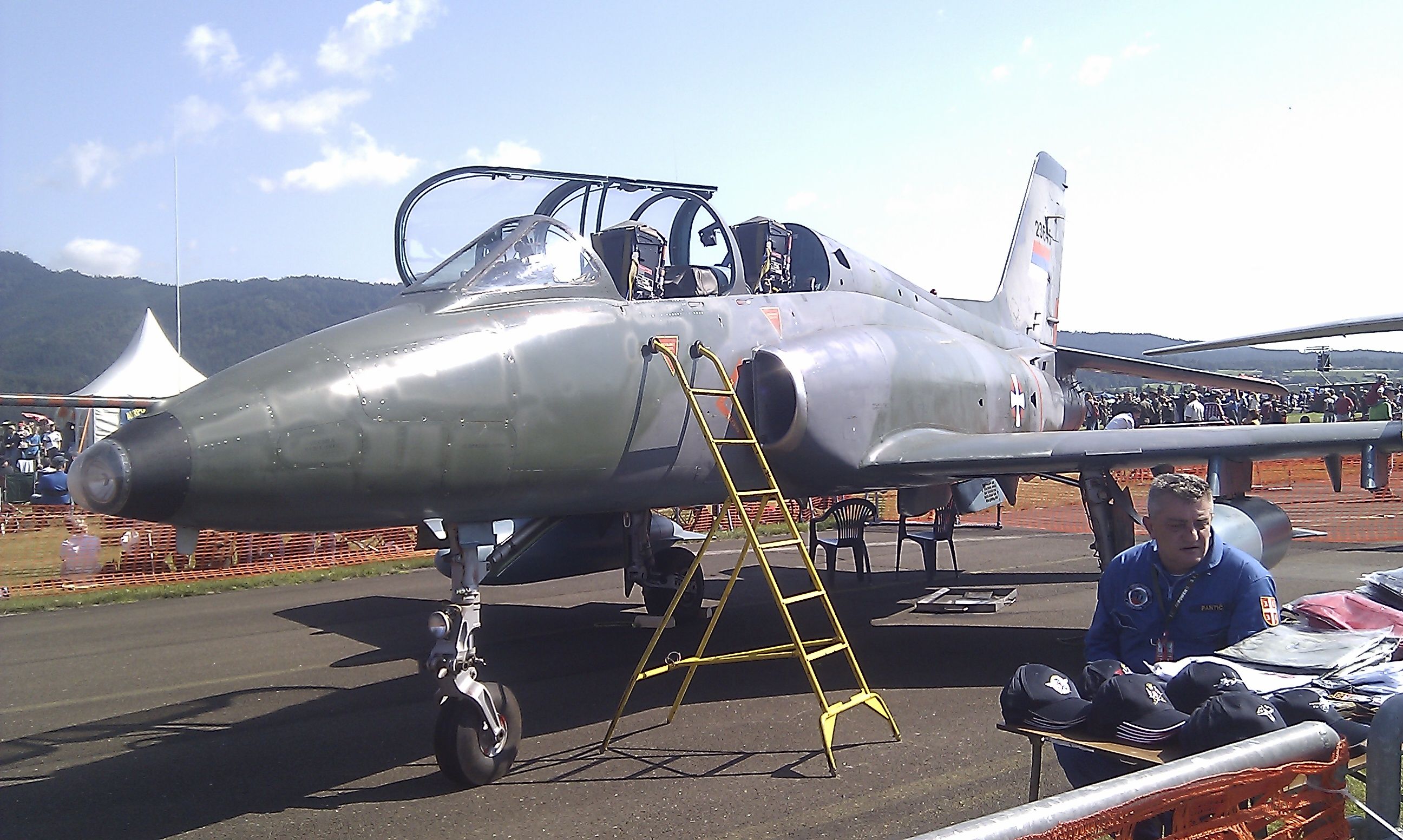 File:G-4 Super Galeb of the Serbian Air Force at Airpower 11.