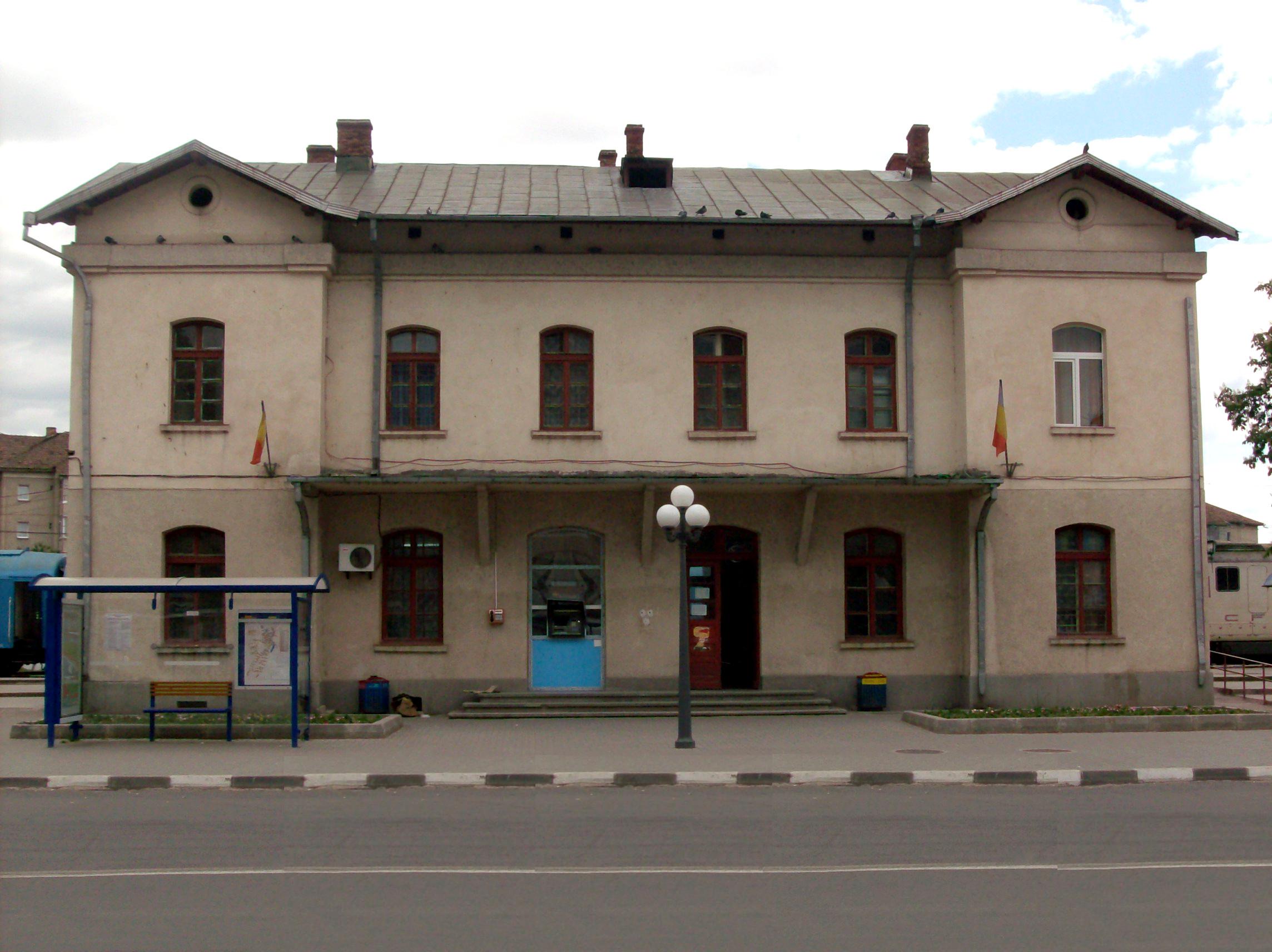 Gara Râmnicu Vâlcea - Wikipedia