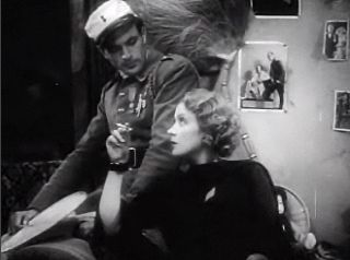 Cropped screenshot of Gary Cooper and Marlene ...