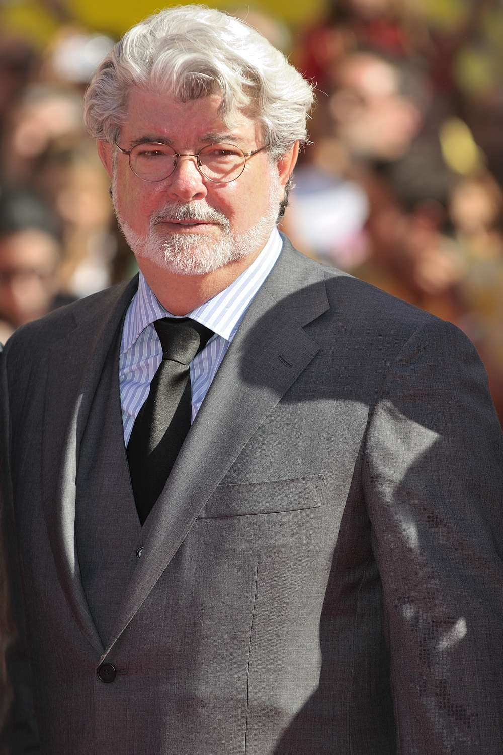 I wondered what George Lucas would look like without a ...