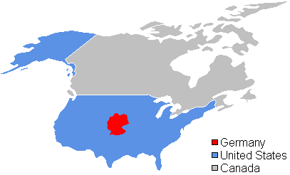 Germany Size