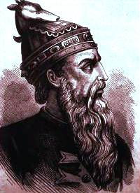 Skanderbeg, leader of the League of Lezhë
