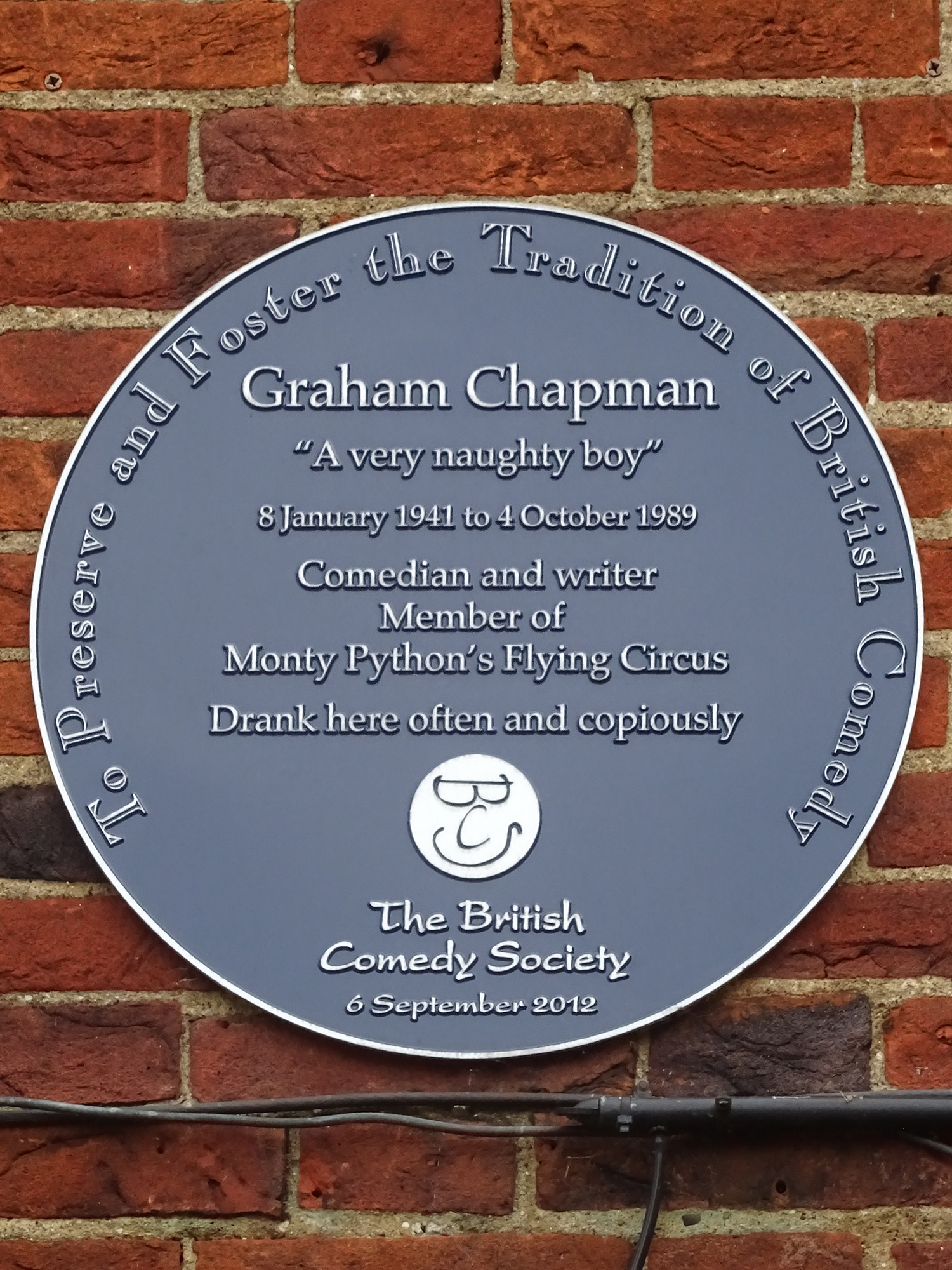 Photo Graham Chapman via Opendata BNF