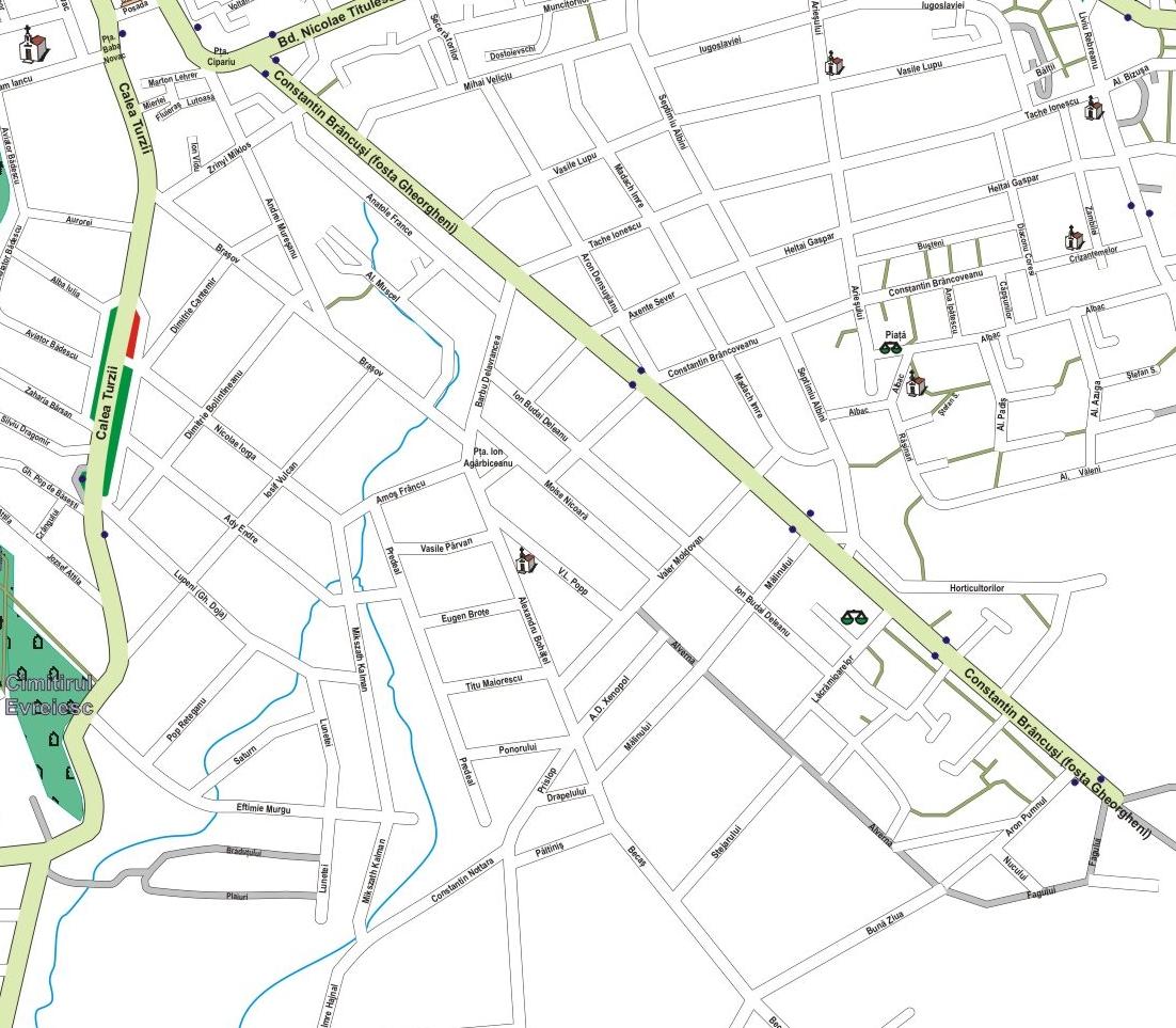 Fișier Harta Cartier Andrei Muresanu Cluj Napoca Jpg Wikipedia