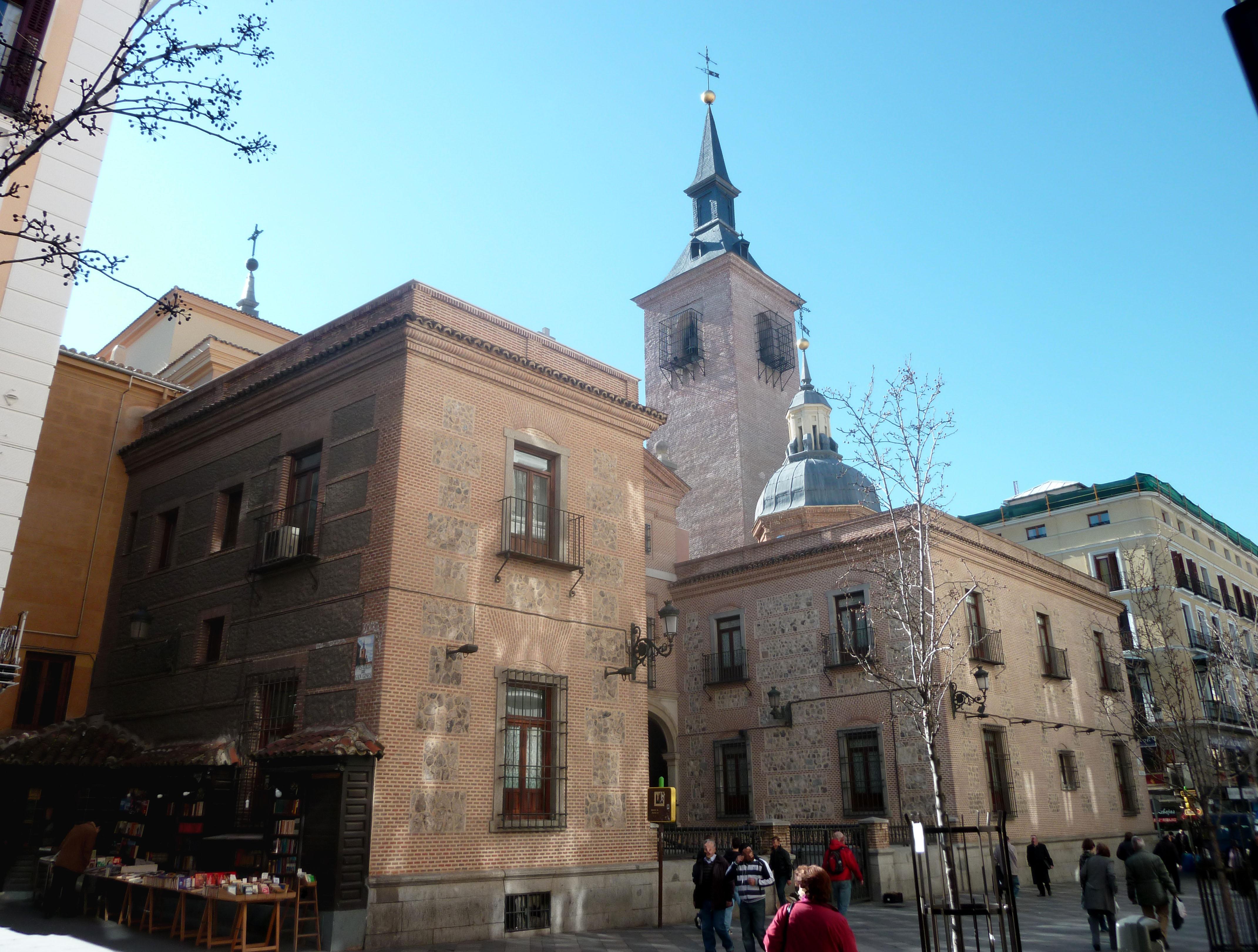 Iglesia De San Gines De Arles Madrid Wikipedia La Enciclopedia