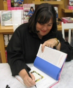 Ina Garten at a book signing
