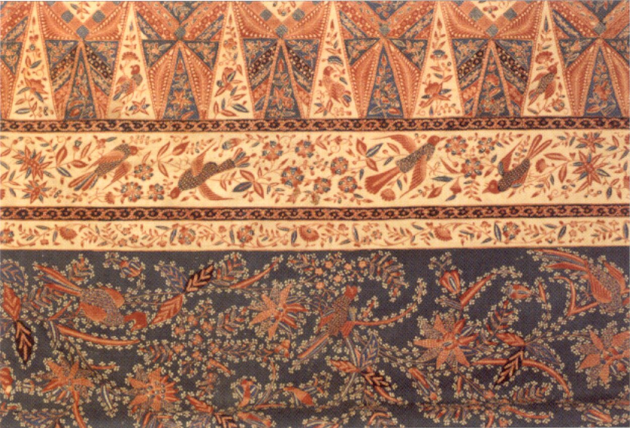 Description Indonesian sarong from Java, c. 1880, Honolulu Academy of ...