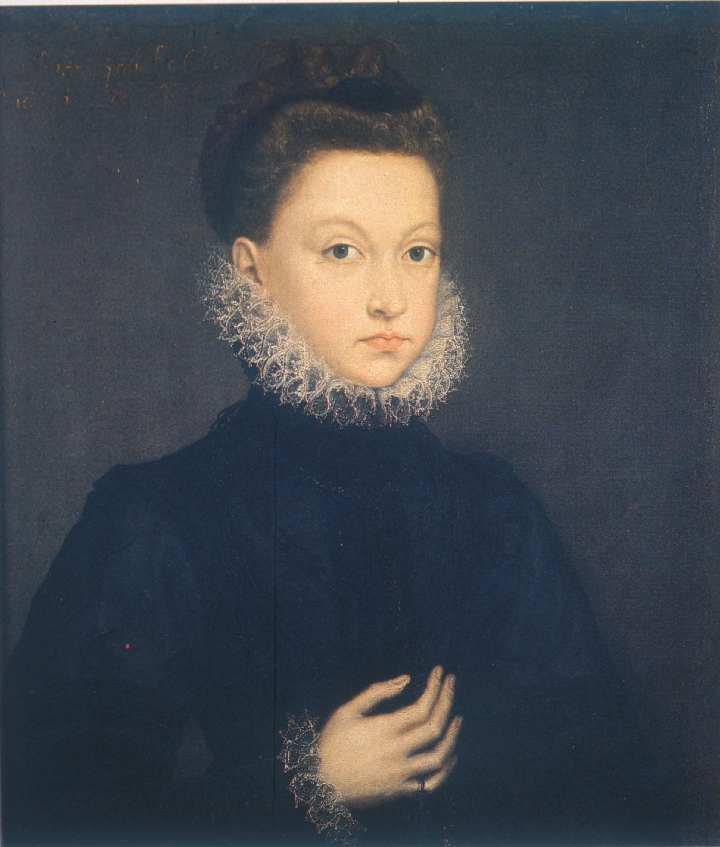 Infanta Isabella Clara Eugenia (1573) di Sofonisba Anguissola