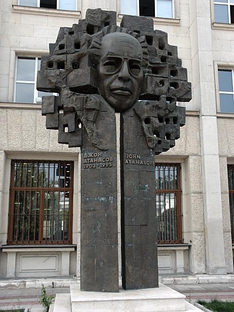 atanasoff monument in sophia ile ilgili görsel sonucu
