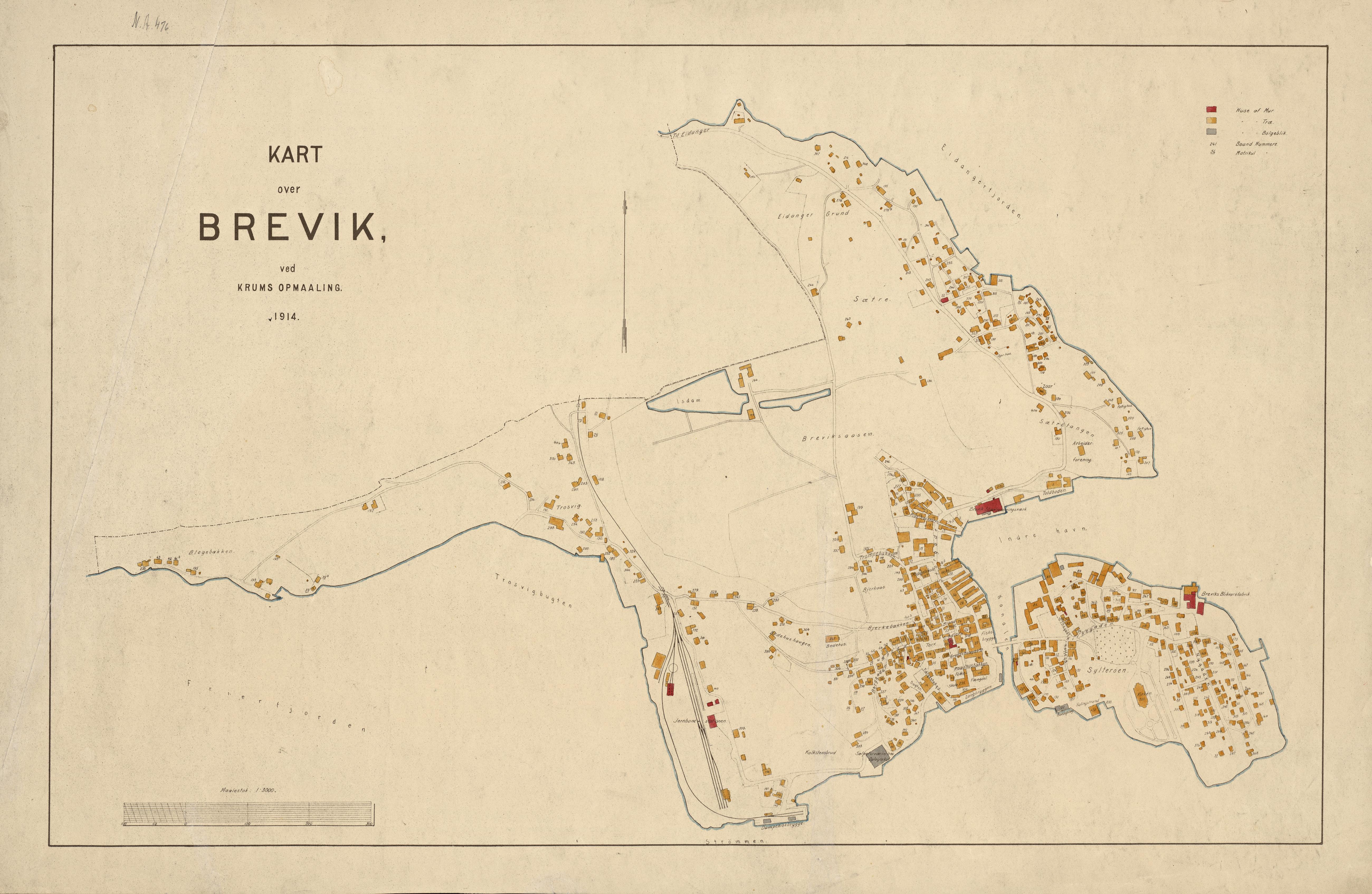 kart over brevik File:Kart over Brevik 1914   No nb krt 01283.   Wikimedia Commons kart over brevik