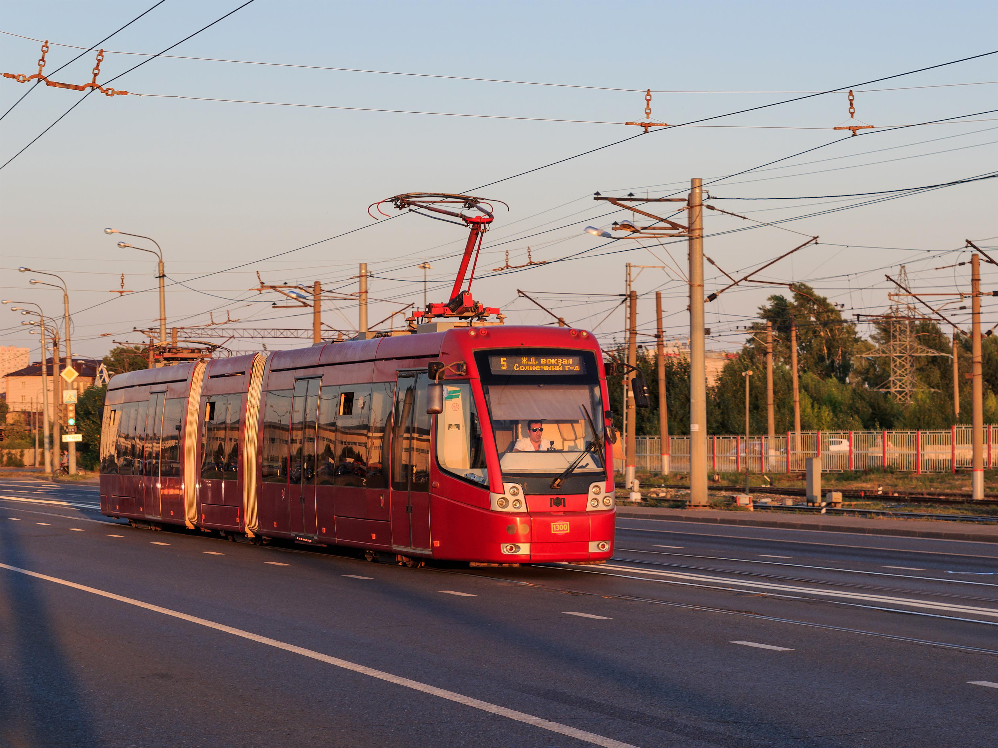 Kazan: public transport and details 64