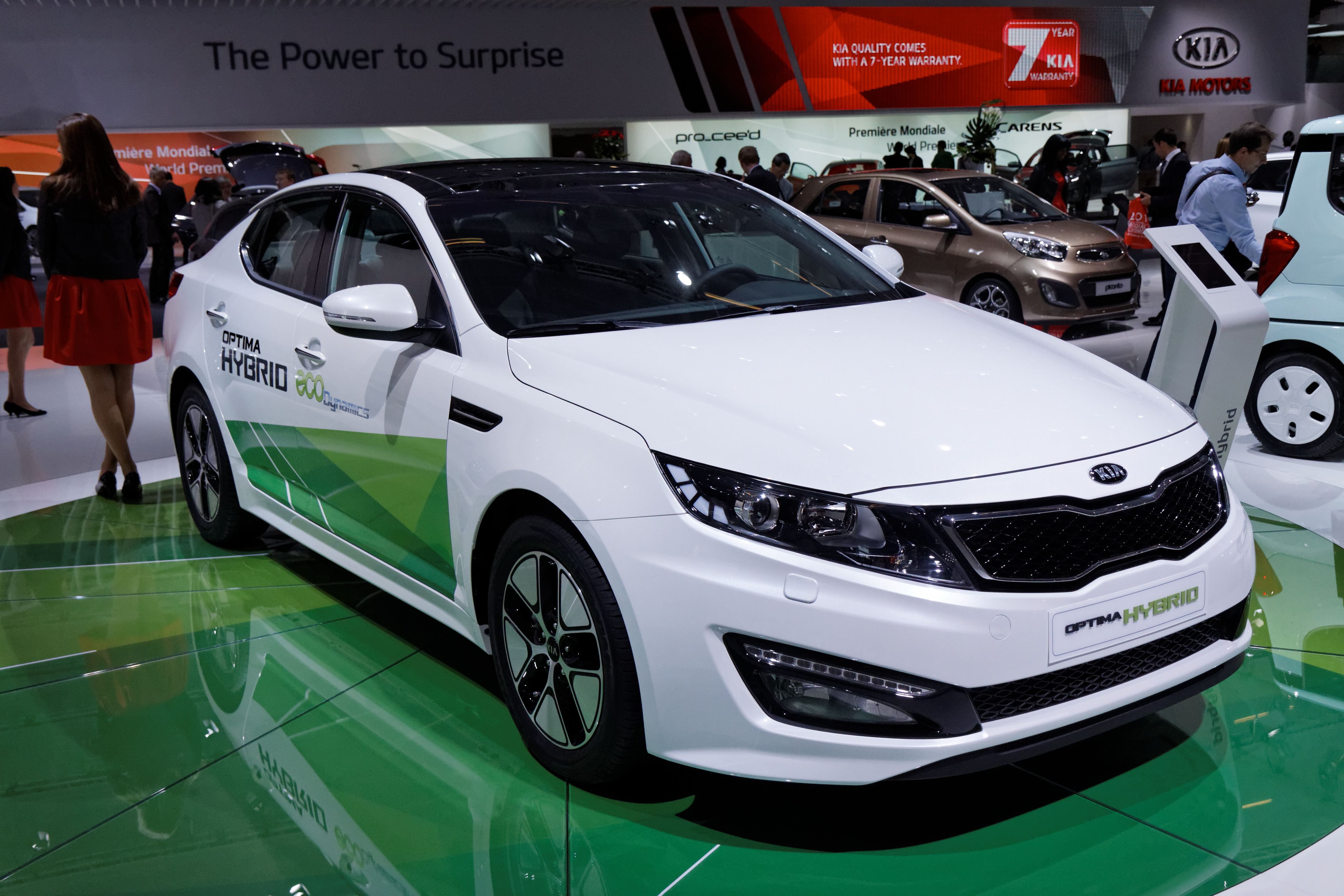 2012 Kia Optima Hybrid (US)