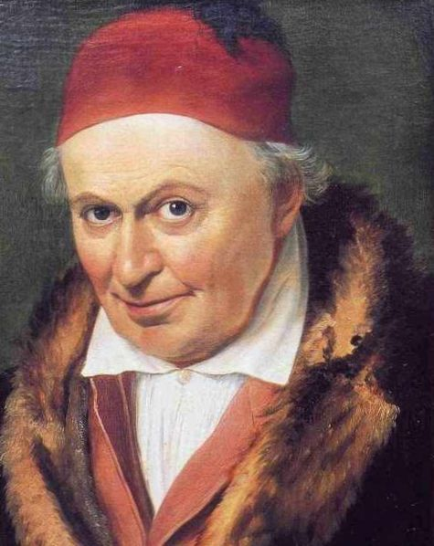 Koch, Joseph Anton — Portrait von Johann Michael Wittmer — ok. 1830