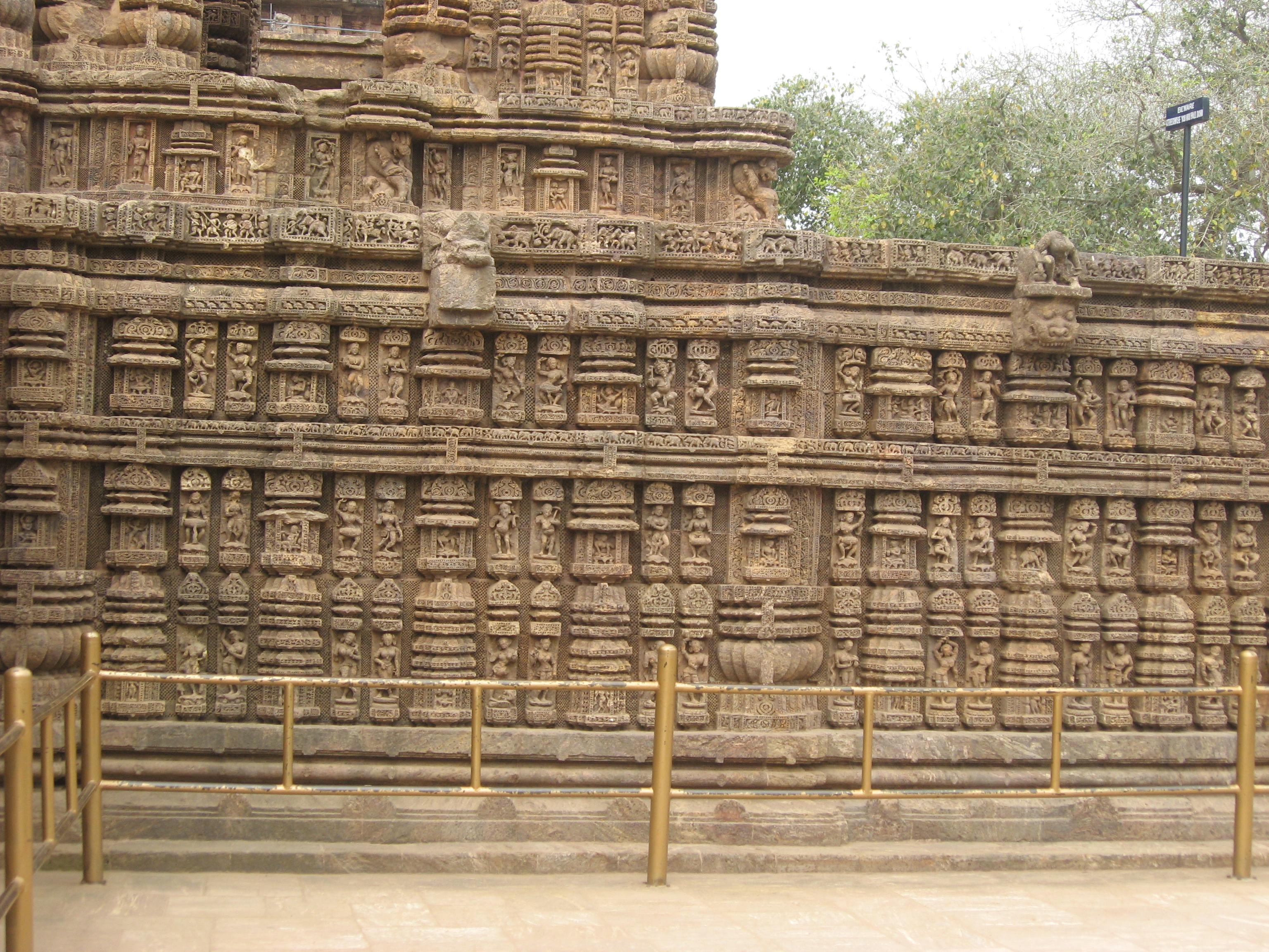 Konarak Sun Temple Sculptures By