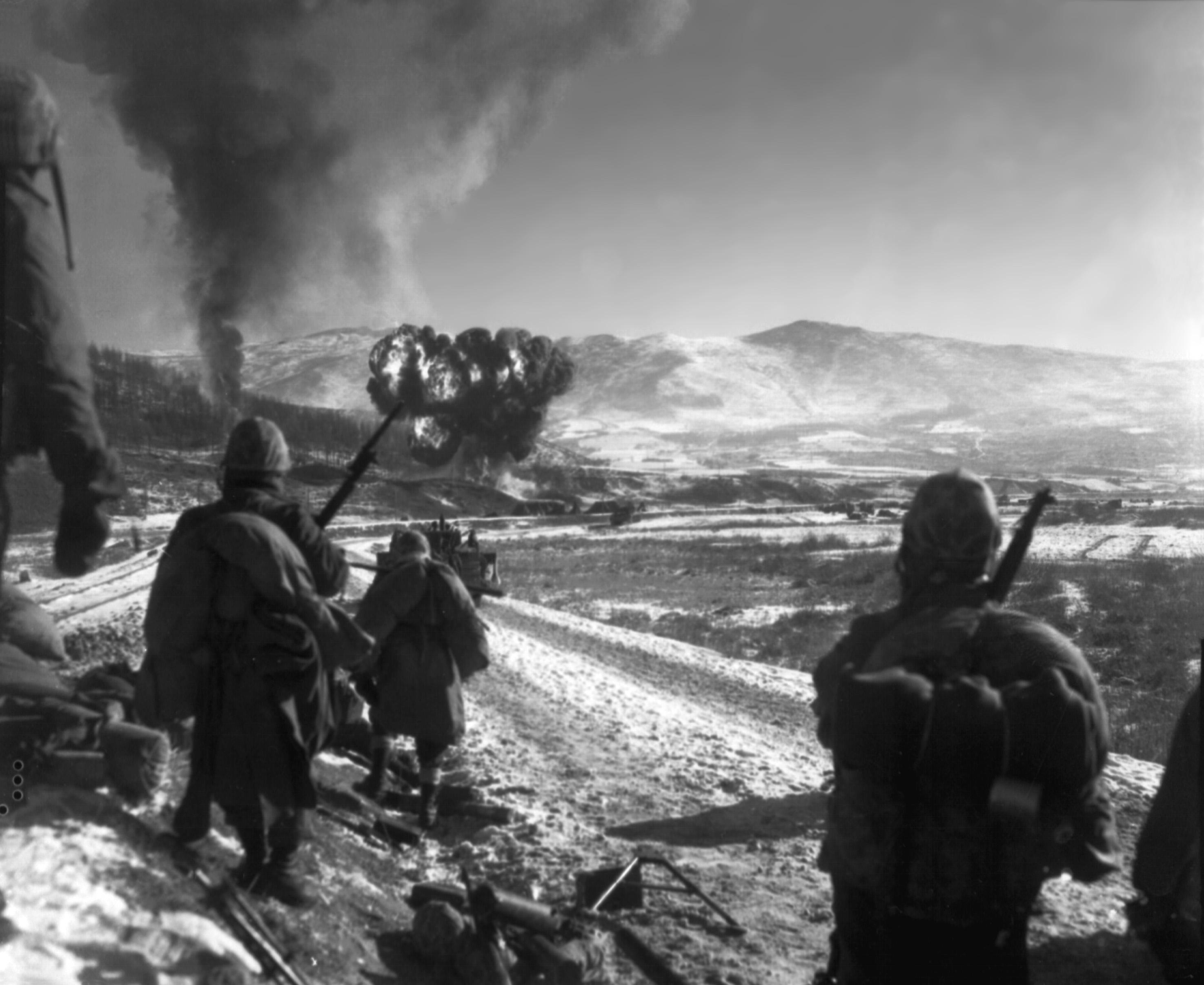 Battle of chosin reservoir military wiki fandom for Bureau 38 north korea