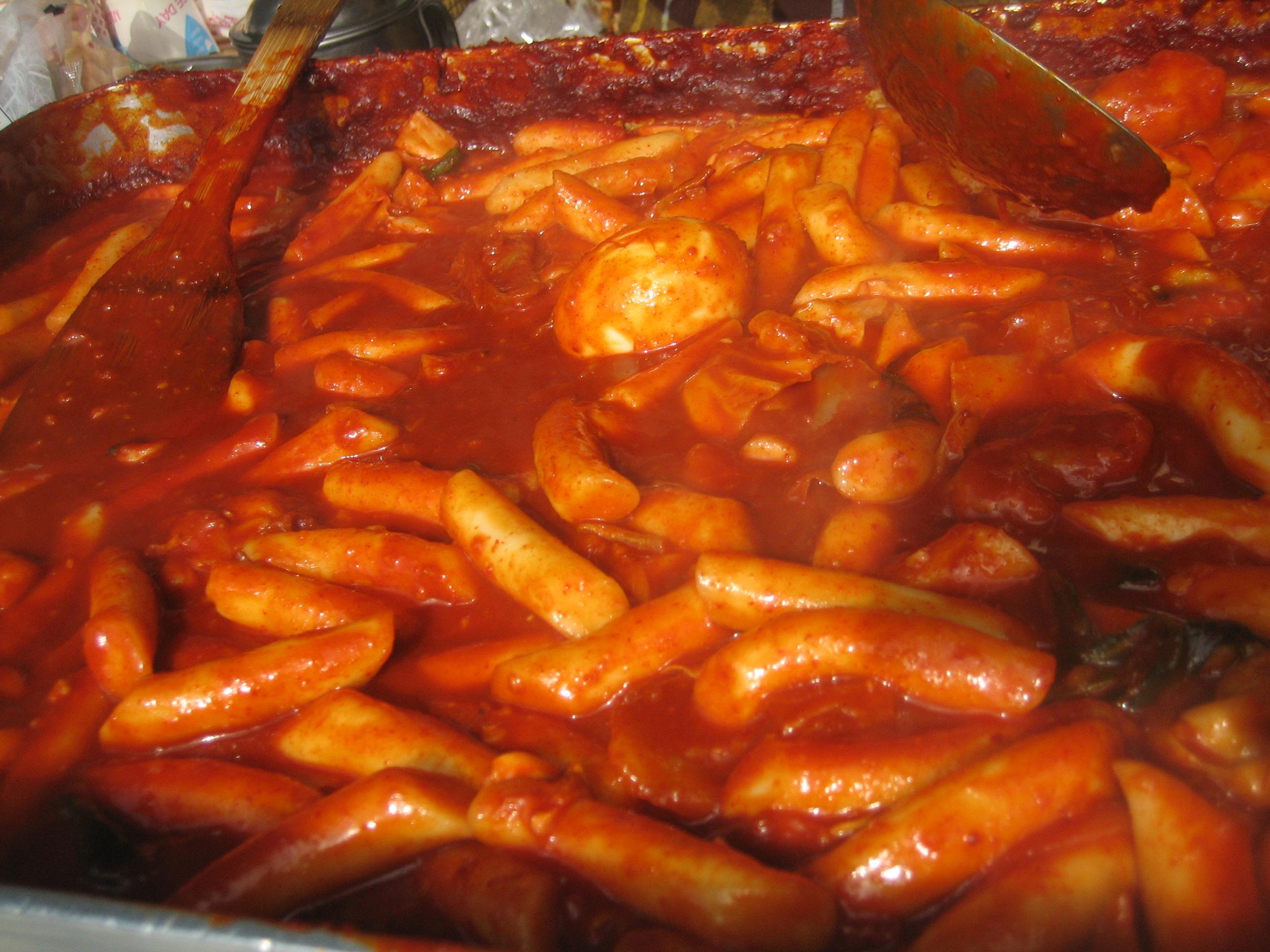 Tteokbokki- cibo da strada coreano
