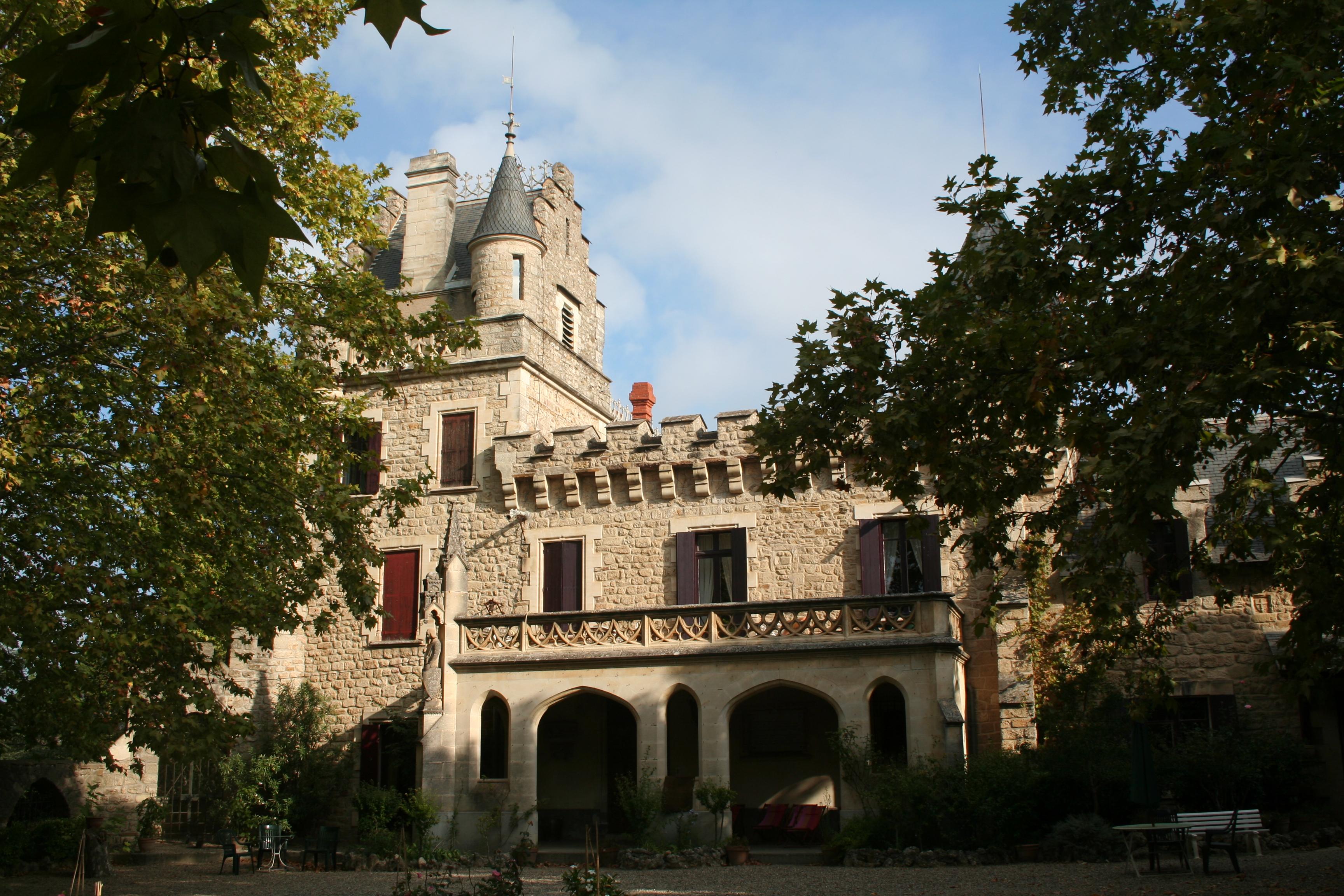 chateau de grézan