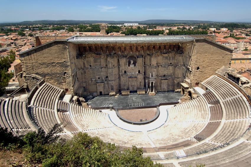 Det romerske teateret i Orange