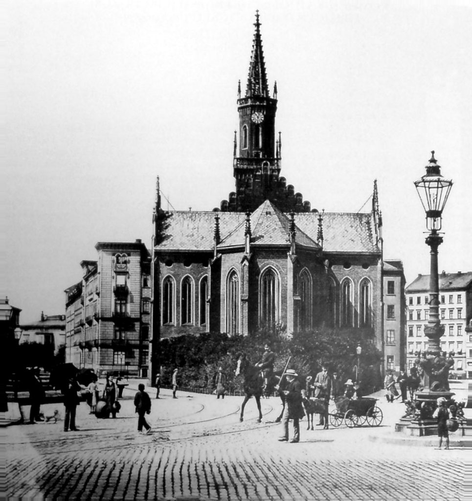 datei leipzig alte trinitatiskirche ostansicht 1890 jpg wikipedia. Black Bedroom Furniture Sets. Home Design Ideas