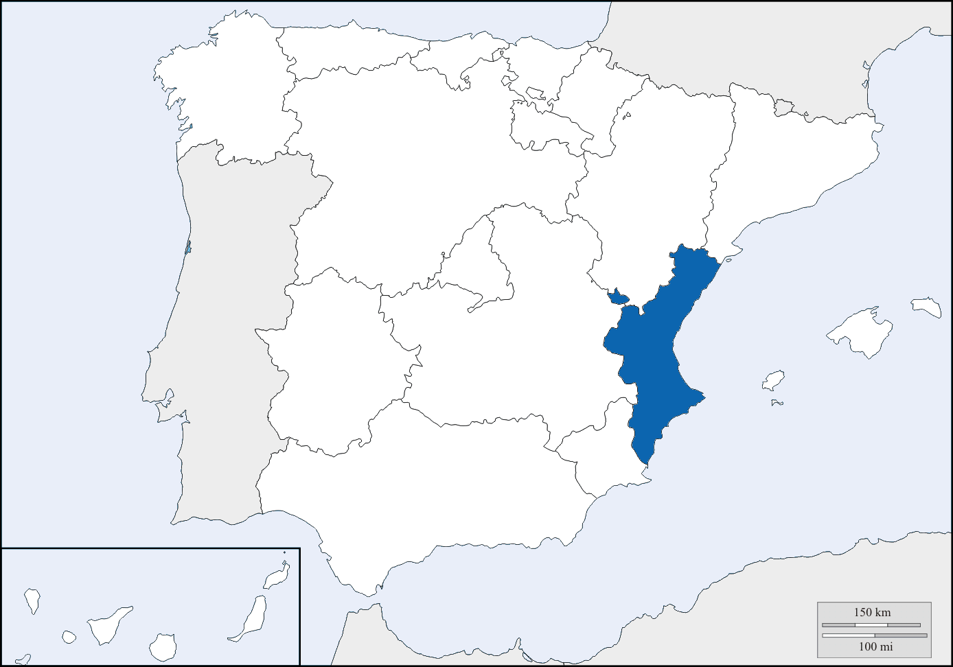 valencia location