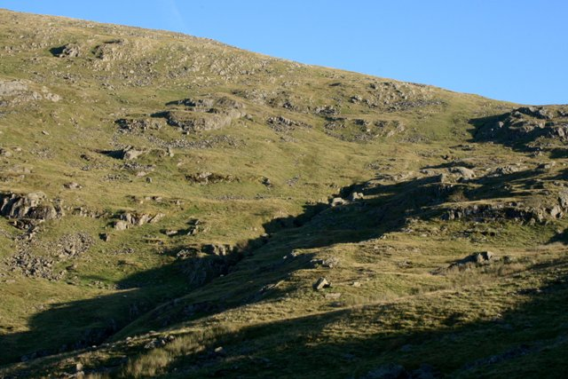 Looking up Towards Red Screes - geograph.org.uk - 551876