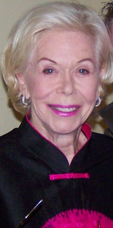 Picture of an author: Louise Hay