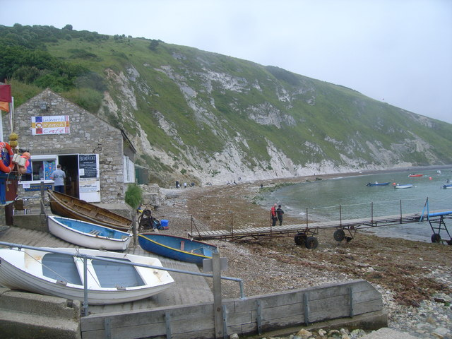 Lulworth Beach Cafe, Lulworth Cove - geograph.org.uk - 885960