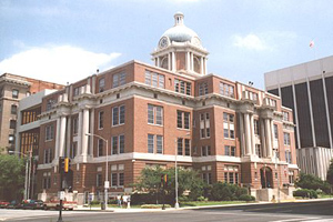 Bibb County courthouse in Macon