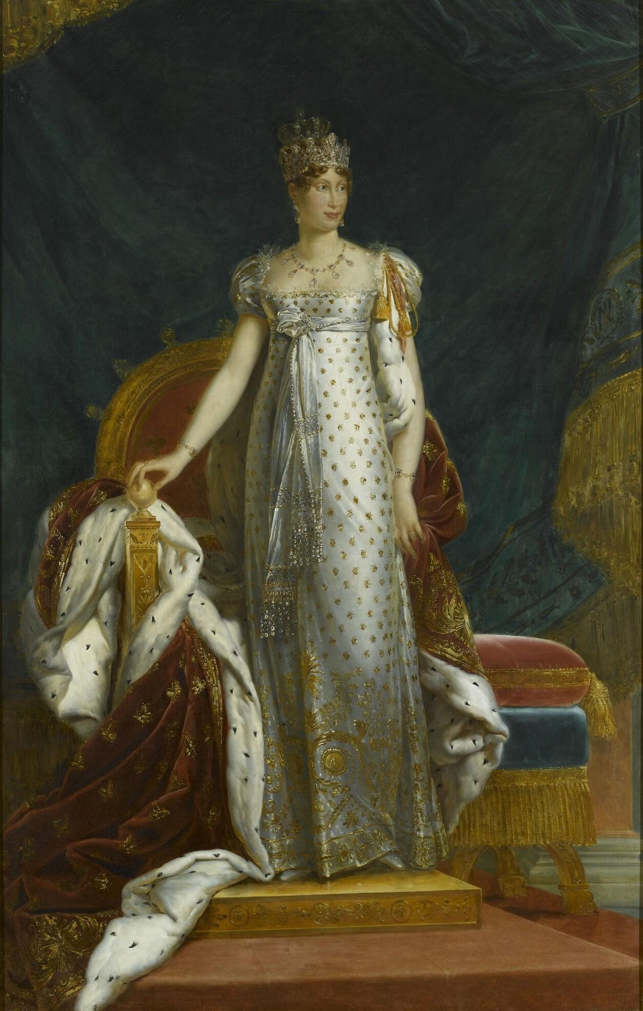 Peinture représentant l'impératrice Marie-Louise.