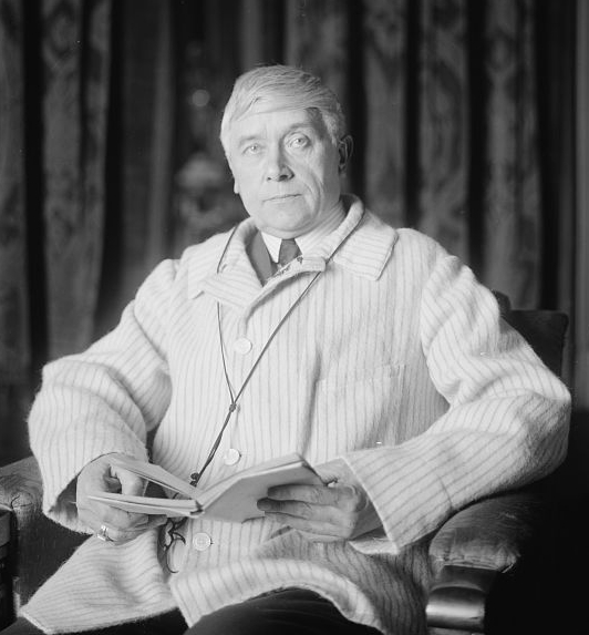 Portrait of Maurice Maeterlinck