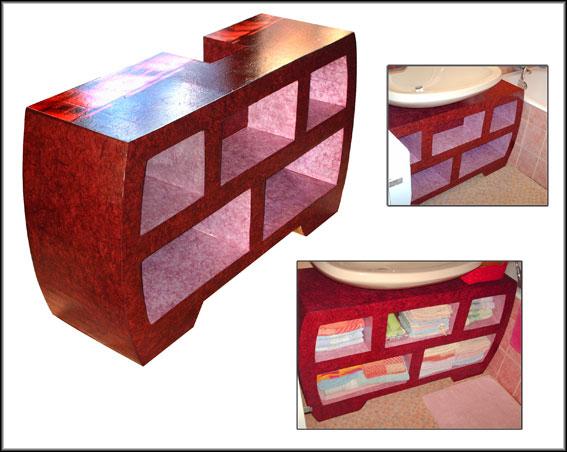 Meuble en carton wikip dia for Tutoriel meuble en carton