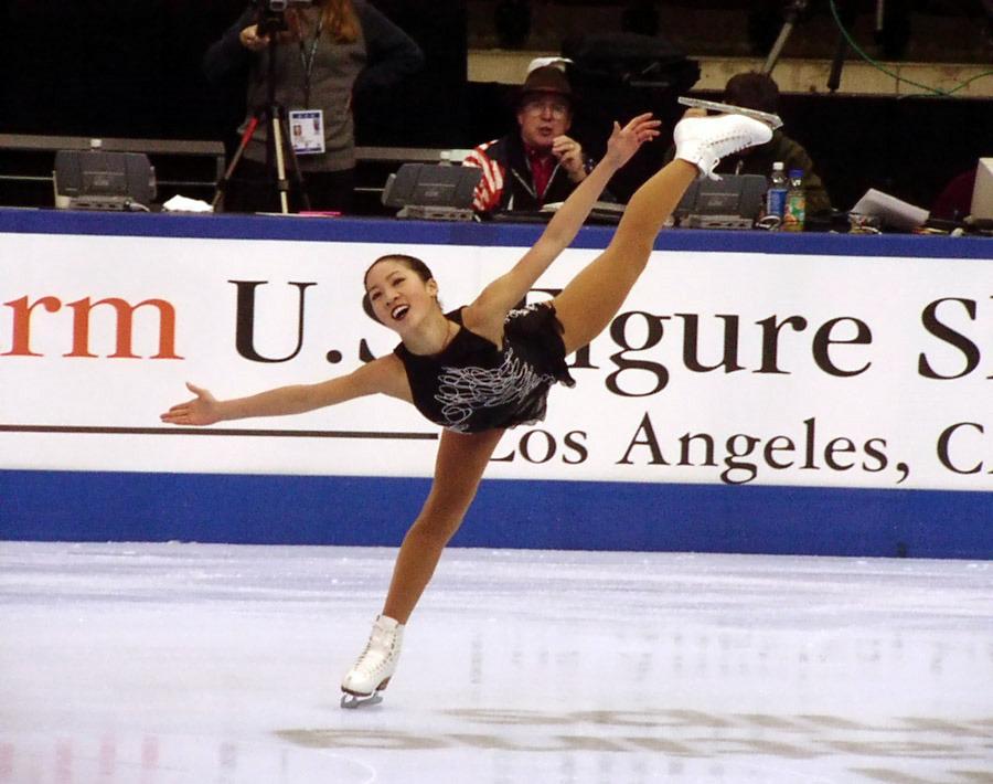 Michelle Kwan Spiral