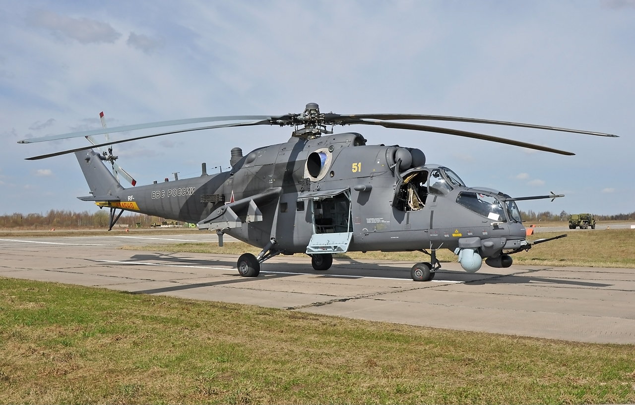 mi35m helicopter with Watch on  together with 786716 furthermore Nigerian Air Force Begin Taking likewise Page3 also 360 Degree Targeting System For Russian Mi 35 Crocodile Helicopter Gunships.