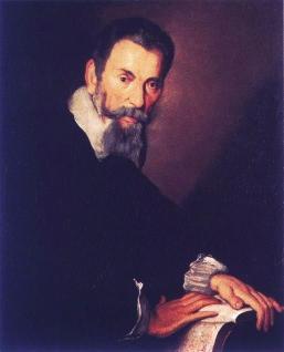 Retrato de Claudio Monteverdi en Venecia, 1640, por Bernardo Strozzi.