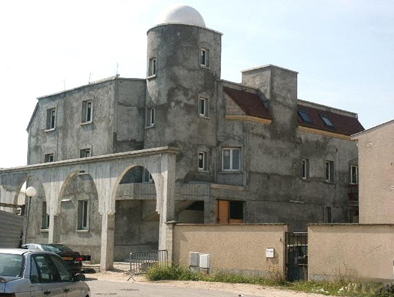 Construction de la mosquée de Vigneux (20.10.2004)