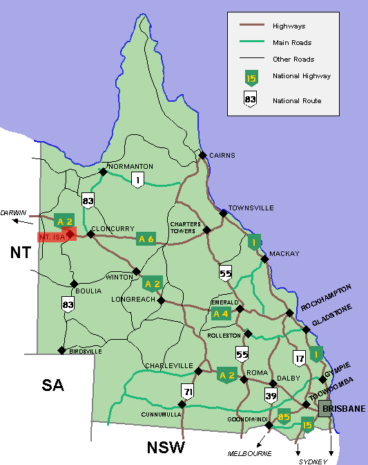 Mt Isa Map File:Mt isa location map in Queensland.PNG   Wikimedia Commons