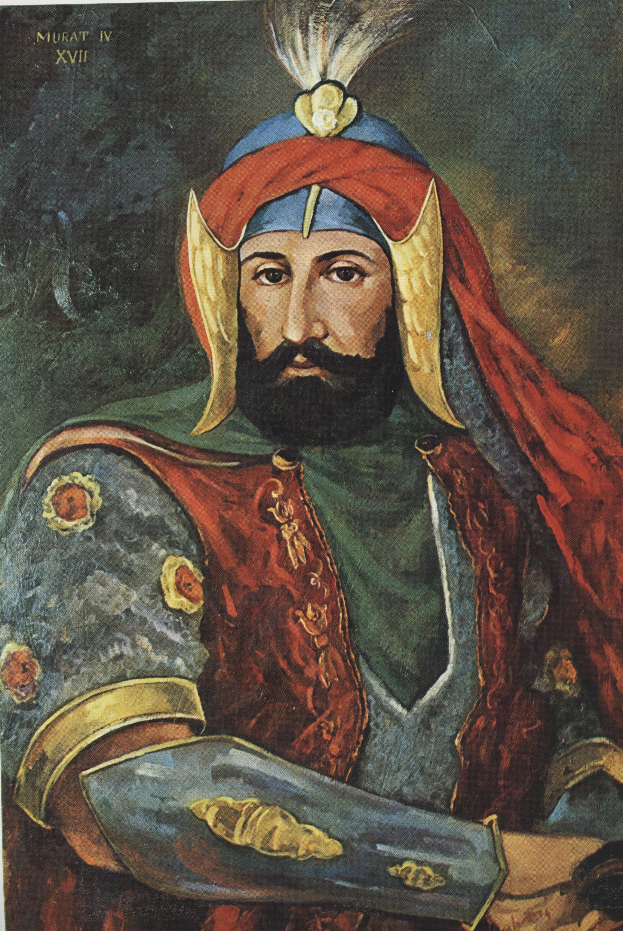 Depiction of Murad IV