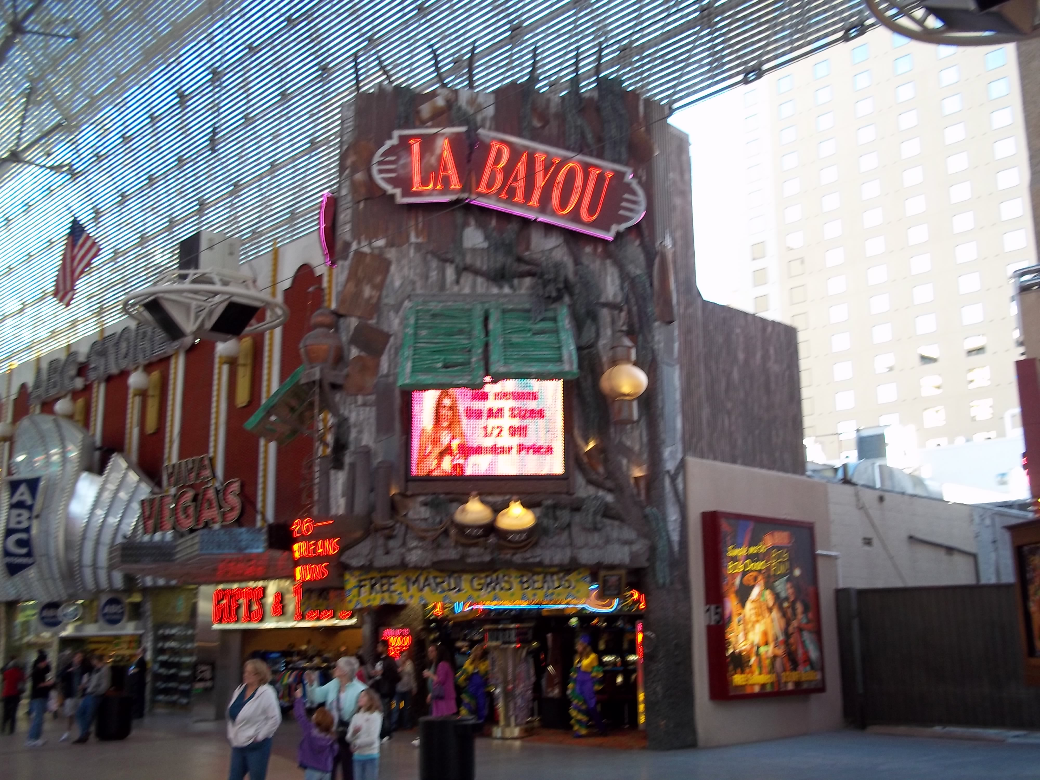 Fremont street coin slots