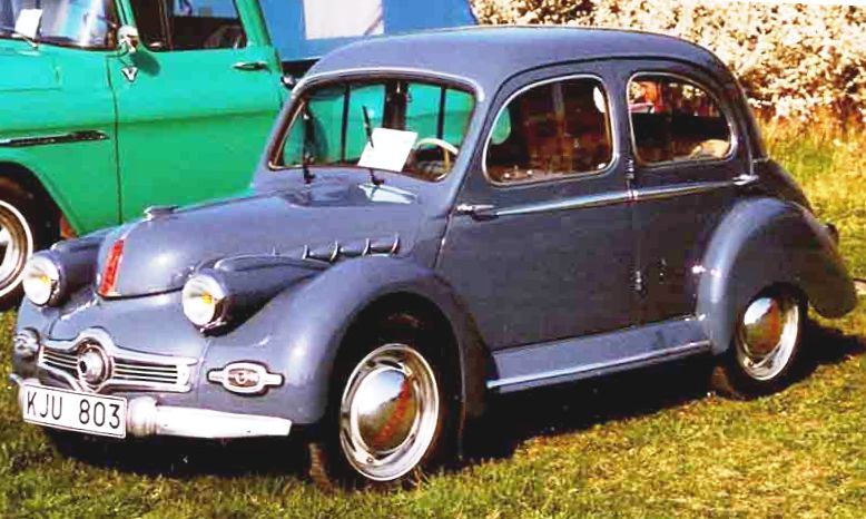 3 Wheel Car >> Panhard Dyna X - Wikipedia