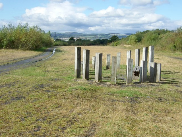 Parc Penallta - Woodpecker - Skylark Trail - geograph.org.uk - 571016