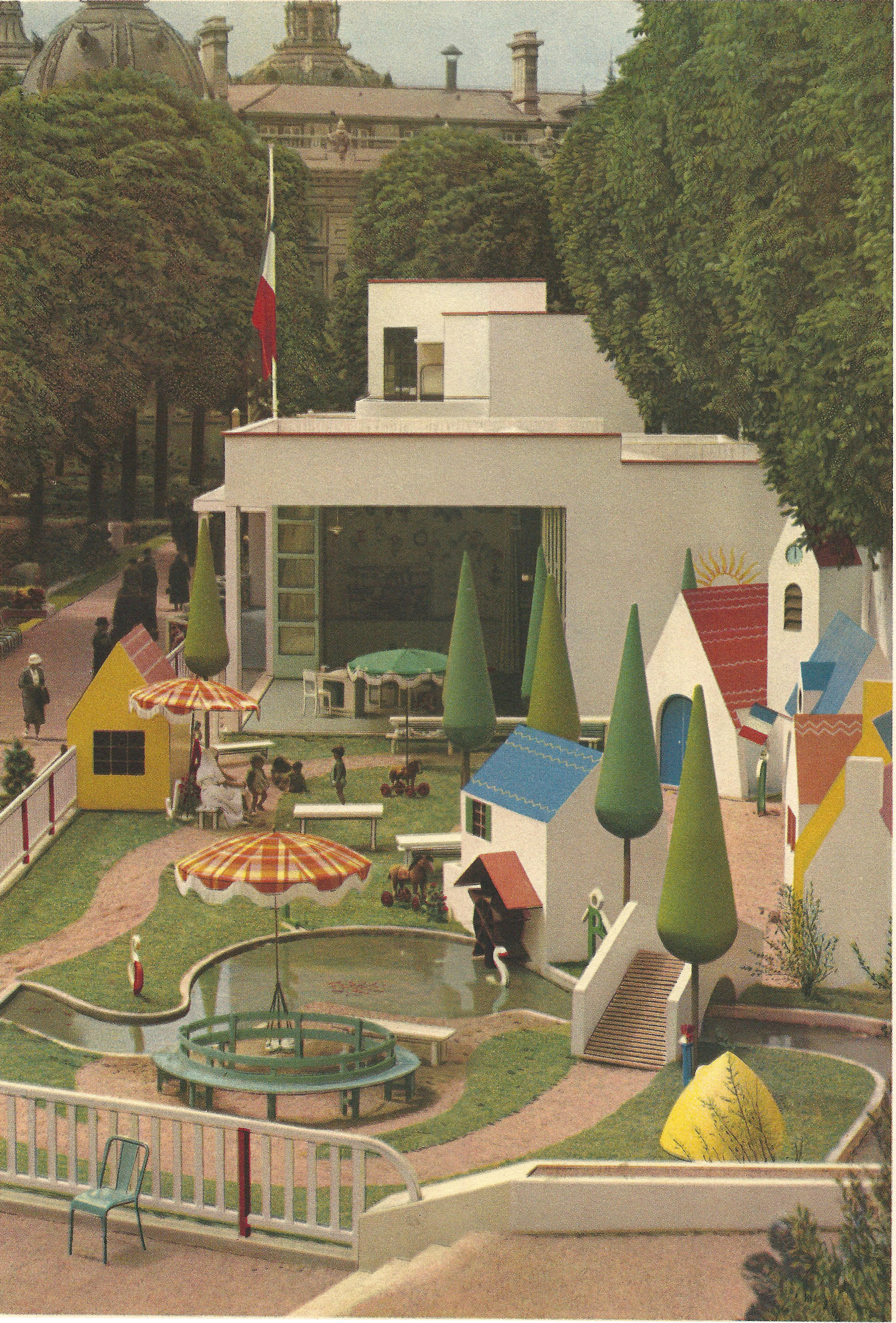 File paris expo 1937 le jardin d 39 enfants for Expo jardin paris