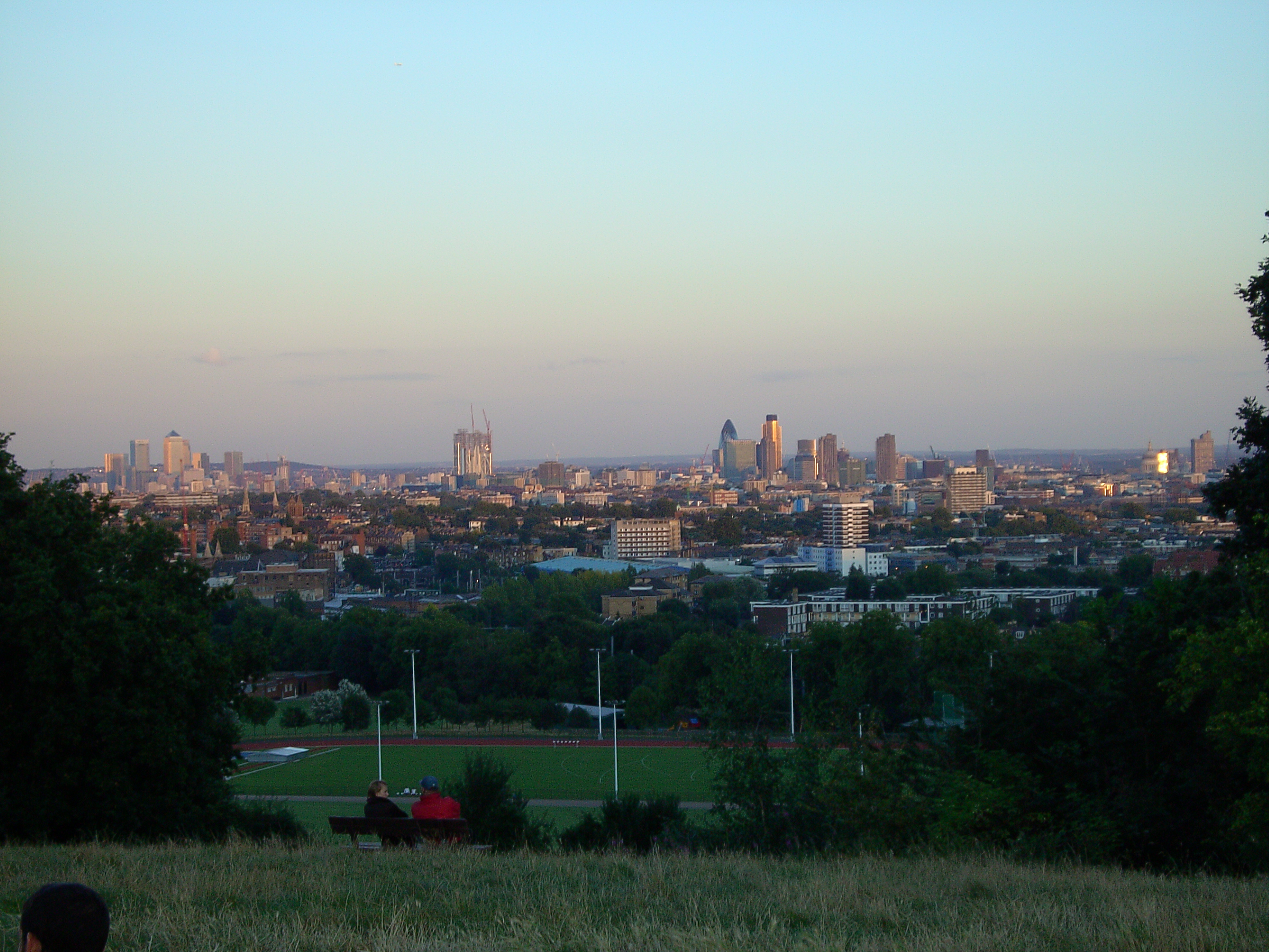 Image result for hampstead heath parliament hill