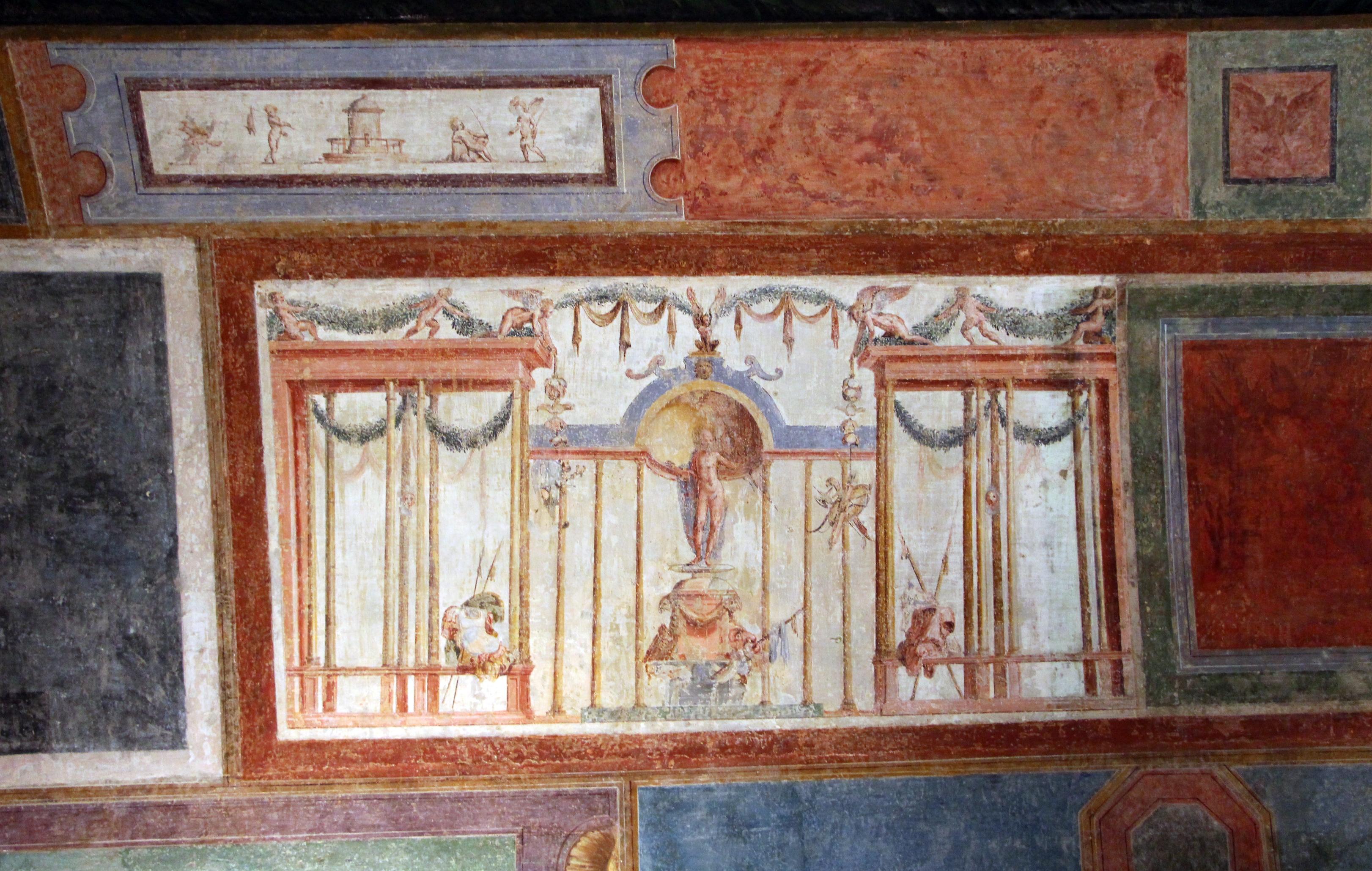 File perin del vaga la carit romana 1530 ca - Decorazioni grottesche ...