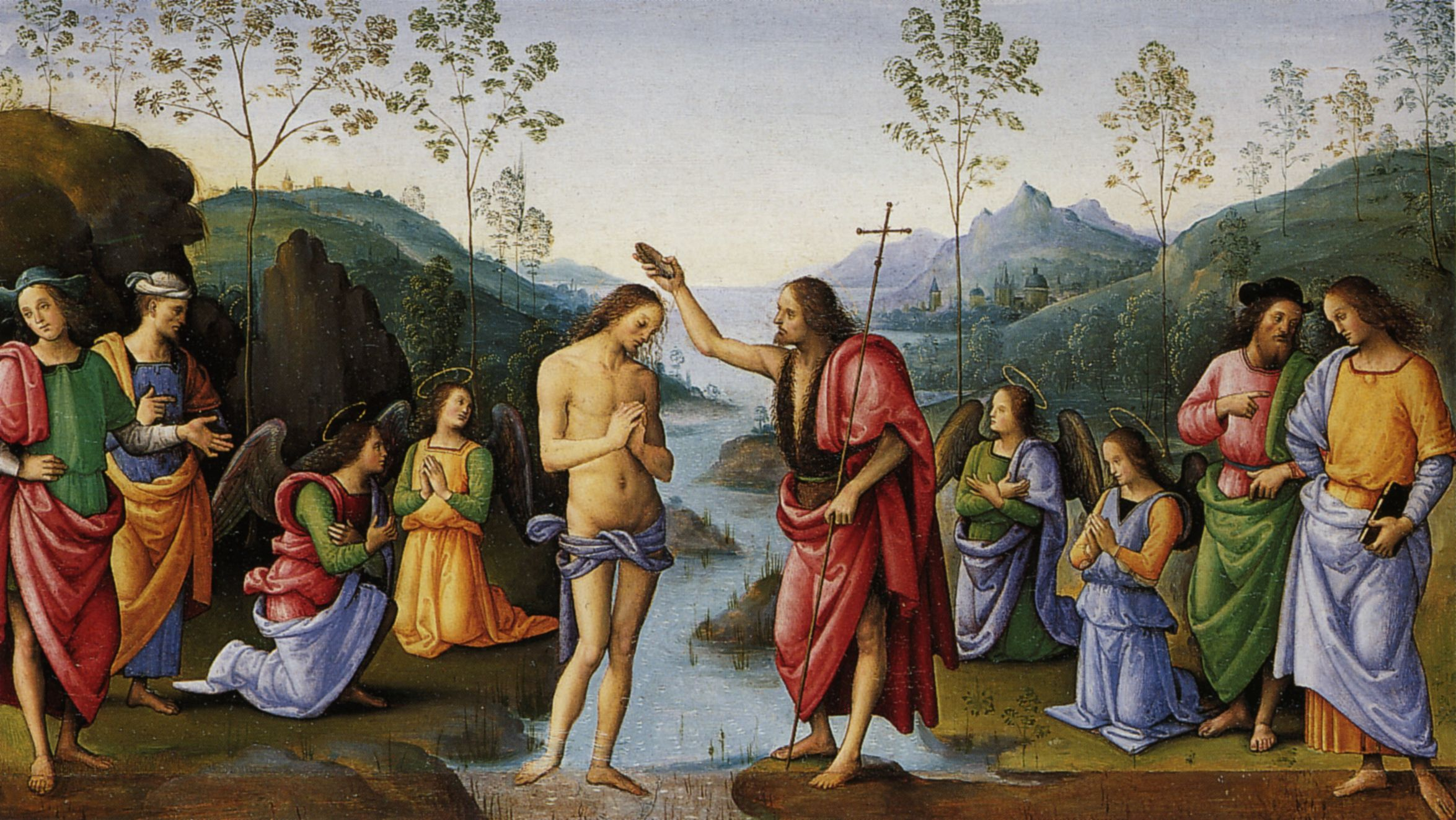 Famous Baptism Paintings